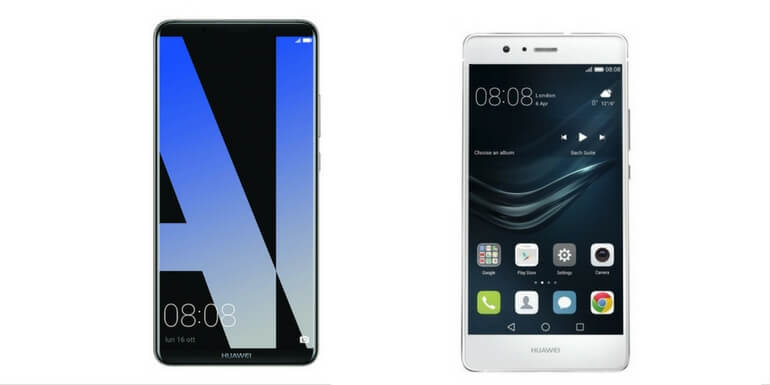 Huawei Mate 10 Pro e P9 Lite ricevono le patch di novembre 2017