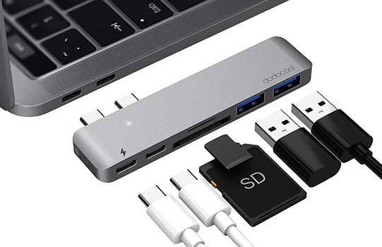 Hub Dual USB C