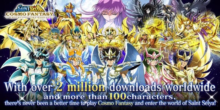 I Cavalieri dello Zodiaco sbarcano su iOS e Android