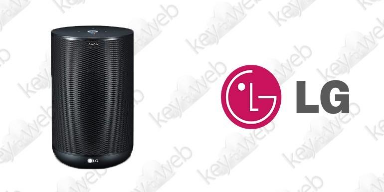 LG ThinQ: nuovo speaker smart con Google Assistant