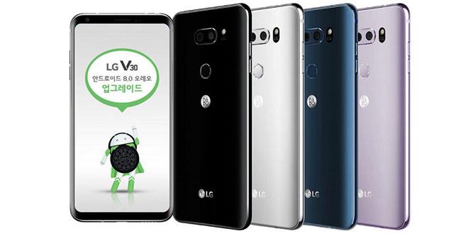 LG V30 e LG G6 riceveranno Android 8.1 Oreo
