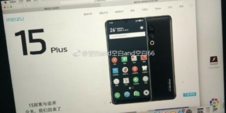 Meizu 15 Plus viene mostrato in una nuova foto pubblicata su Weibo