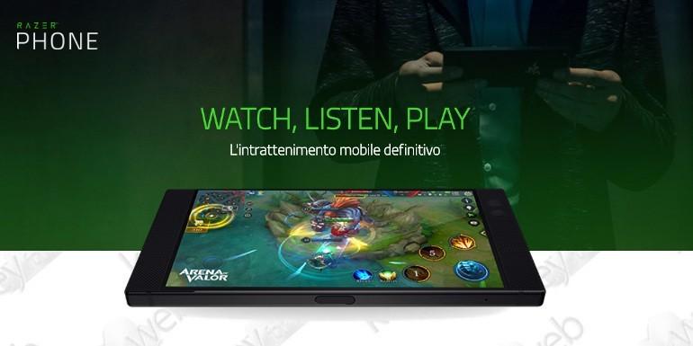Razer Phone sbarca in Italia