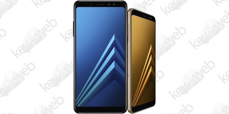 Samsung Galaxy A8 e A8+ ufficiali con doppia fotocamera anteriore