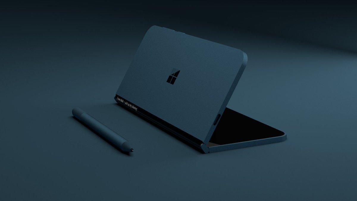 Fotocamera del Surface Phone illustrata da nuovi brevetti