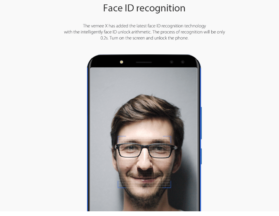 Vernee X - Face ID