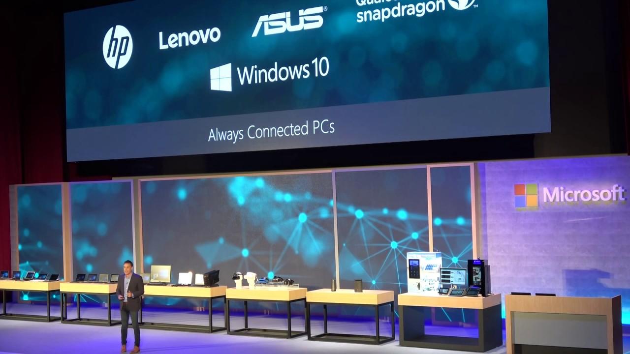 Windows on Arm, nel 2018 in arrivo i prodotti di Samsung e Xiaomi