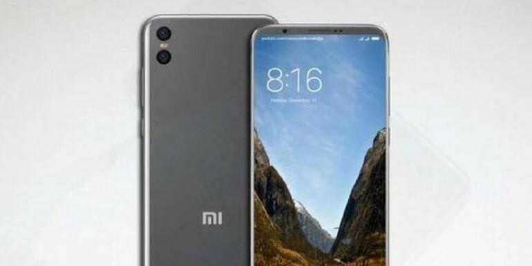 Xiaomi Mi 7: nuovi render mostrano un design a schermo intero