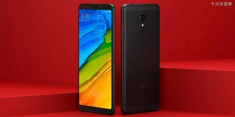 Xiaomi Redmi 5: la variante di colore nero disponibile dal 25 dicembre