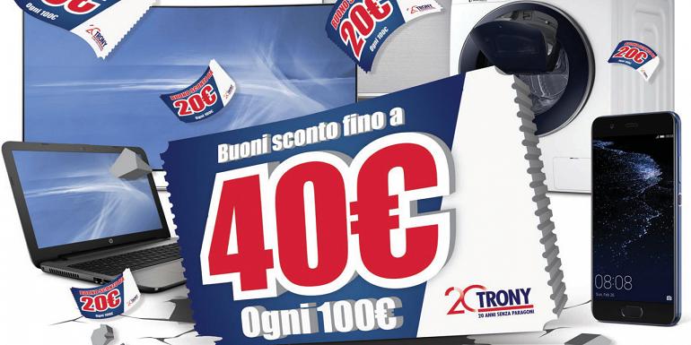 Fioccano i buoni sconto con il nuovo volantino Trony: 140 euro in regalo con Galaxy S8