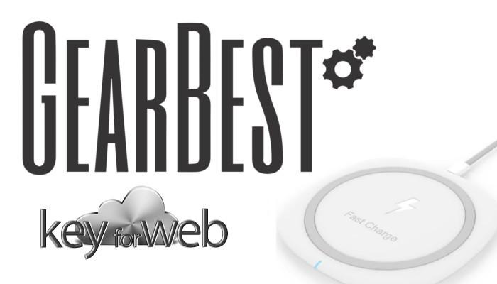 Caricatore Wireless ad alta velocità per il tuo smartphone in offerta su GearBest