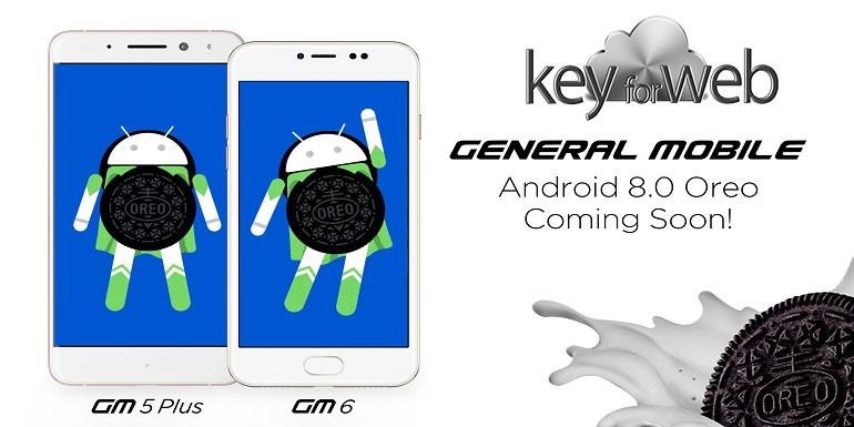 General Mobile GM6 si aggiorna ad Android 8.0 Oreo