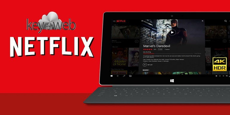 Netflix porta la qualità HDR su Windows 10