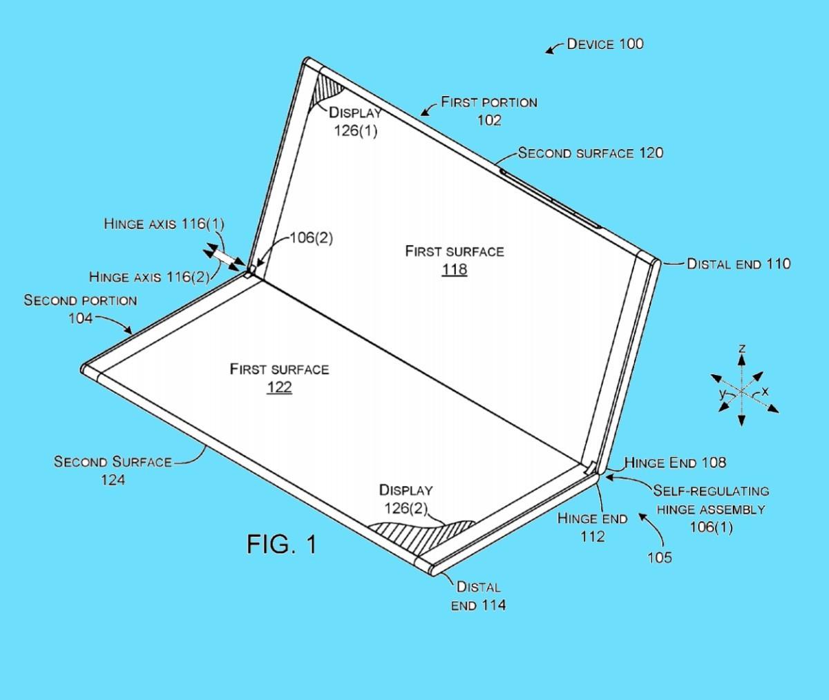 Surface Phone, continuano i brevetti svelati sulla rete