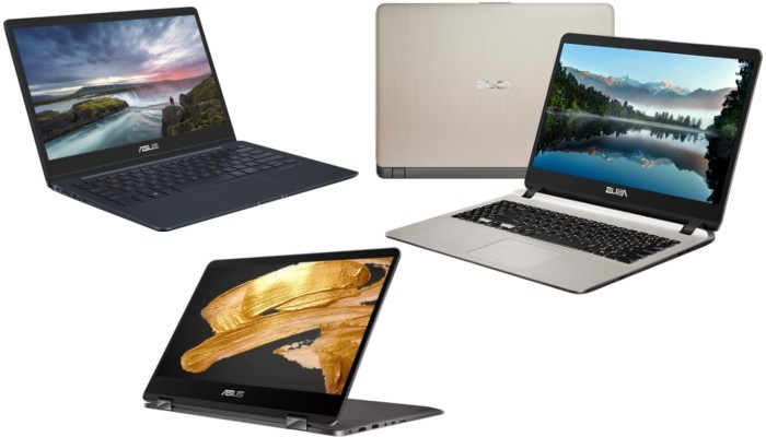 ASUS presenta i nuovi ZenBook 13, Flip 14, X507 al CES 2018