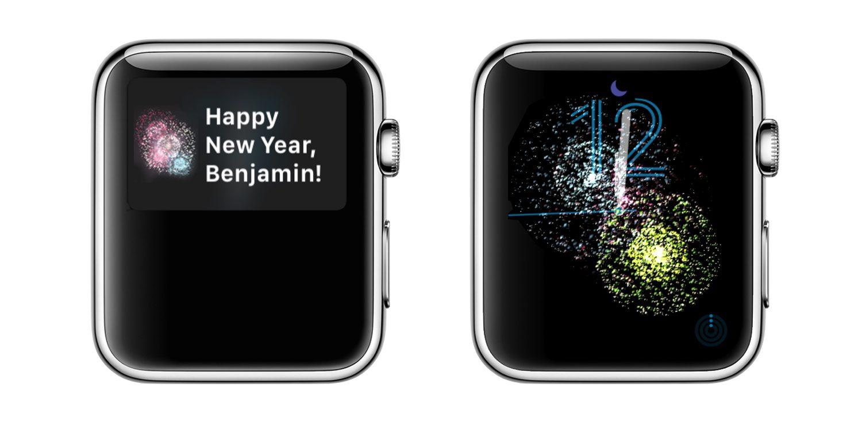 Apple Watch festeggia il nuovo anno con tutti gli utenti