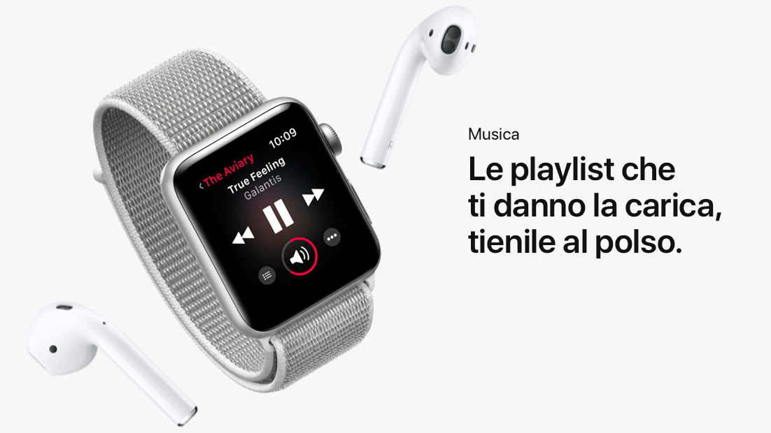 Come sincronizzare album e playlist su Apple Watch
