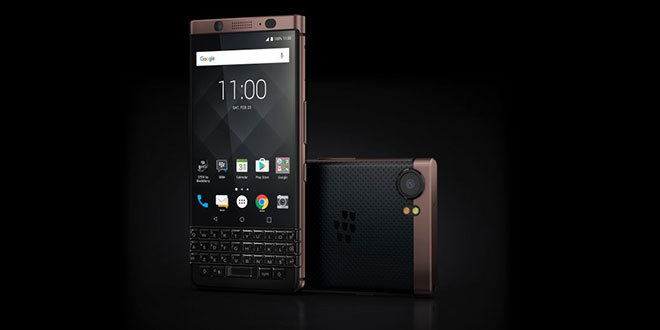 BlackBerry KEYone, arriva in beta l'aggiornamento Android Oreo