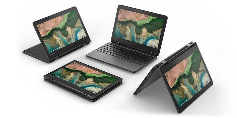 Lenovo lancia nuovi Chromebook per il mercato Education