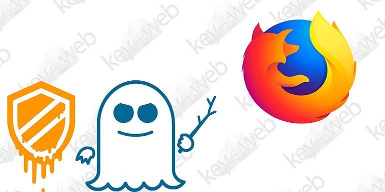 Firefox 57.0.4 vi protegge dagli exploit Meltdown e Spectre