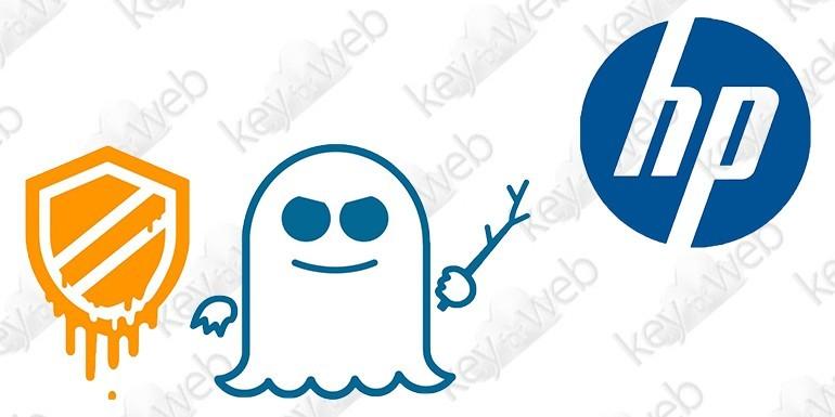 HP inizia il rilascio dei nuovi BIOS per arginare i bug Spectre e Meltdown