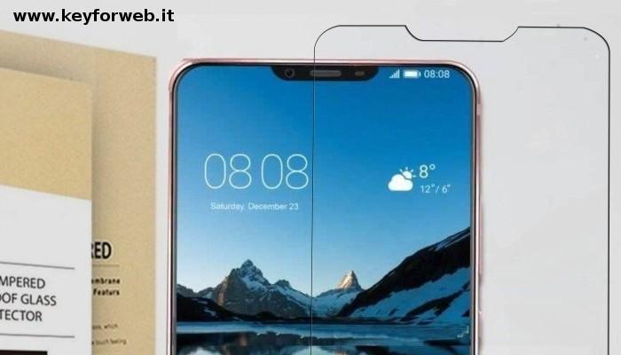 Huawei P20 con Notch emerge dalle nuove pellicole