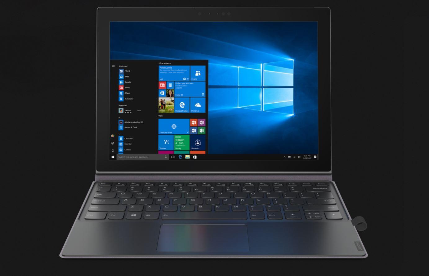 CES 2018 , Lenovo presenta il nuovo Miix 630 su base Windows on ARM