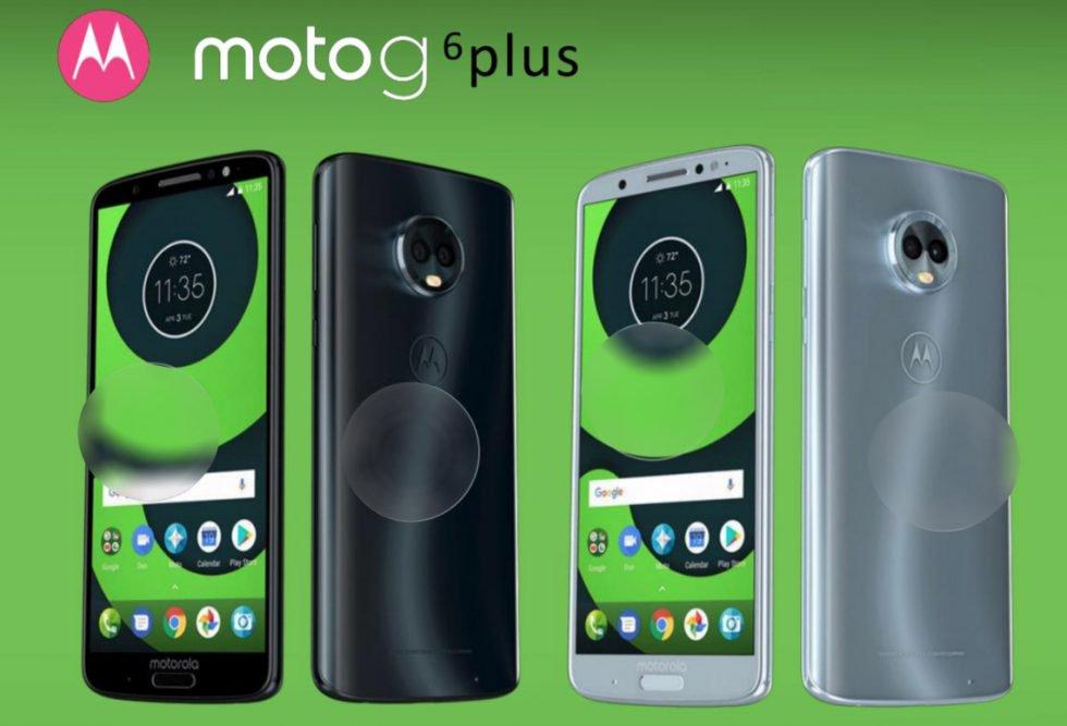 Moto G6 Plus: tutte le colorazioni disponibili