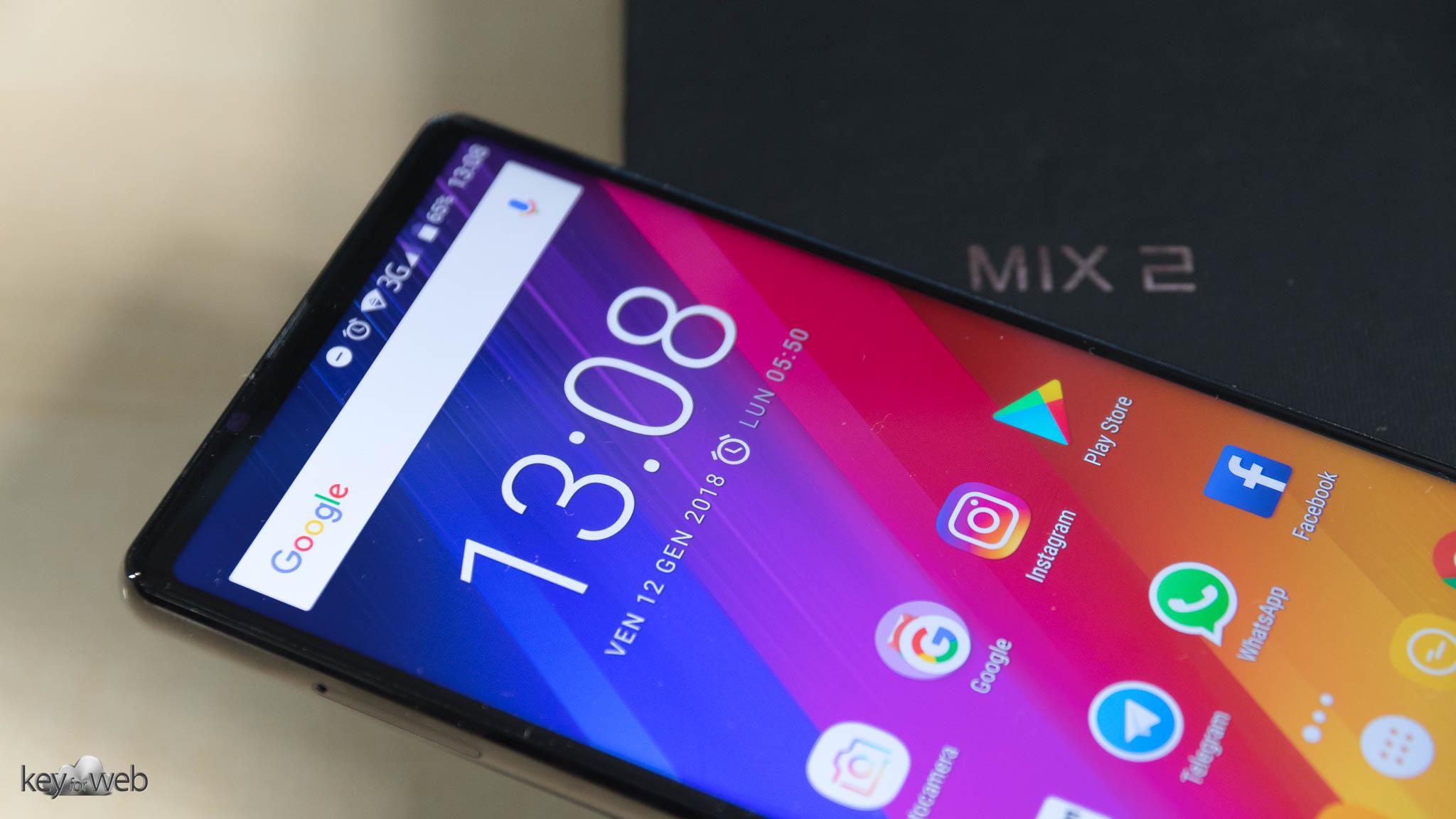 Oukitel Mix 2, recensione dello Smartphone tri-borderless da 200€
