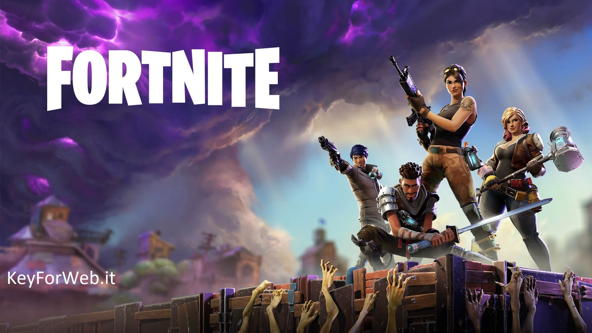 Fortnite down su PS4, Xbox One e PC oggi 4 aprile