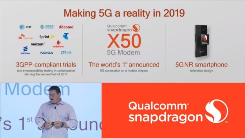 """Qualcomm punterà forte sul 5G dal 2019: """"è il futuro"""""""