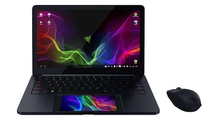 Razer Phone si trasforma in un Laptop da 13″ grazie a Project Linda al CES 2018