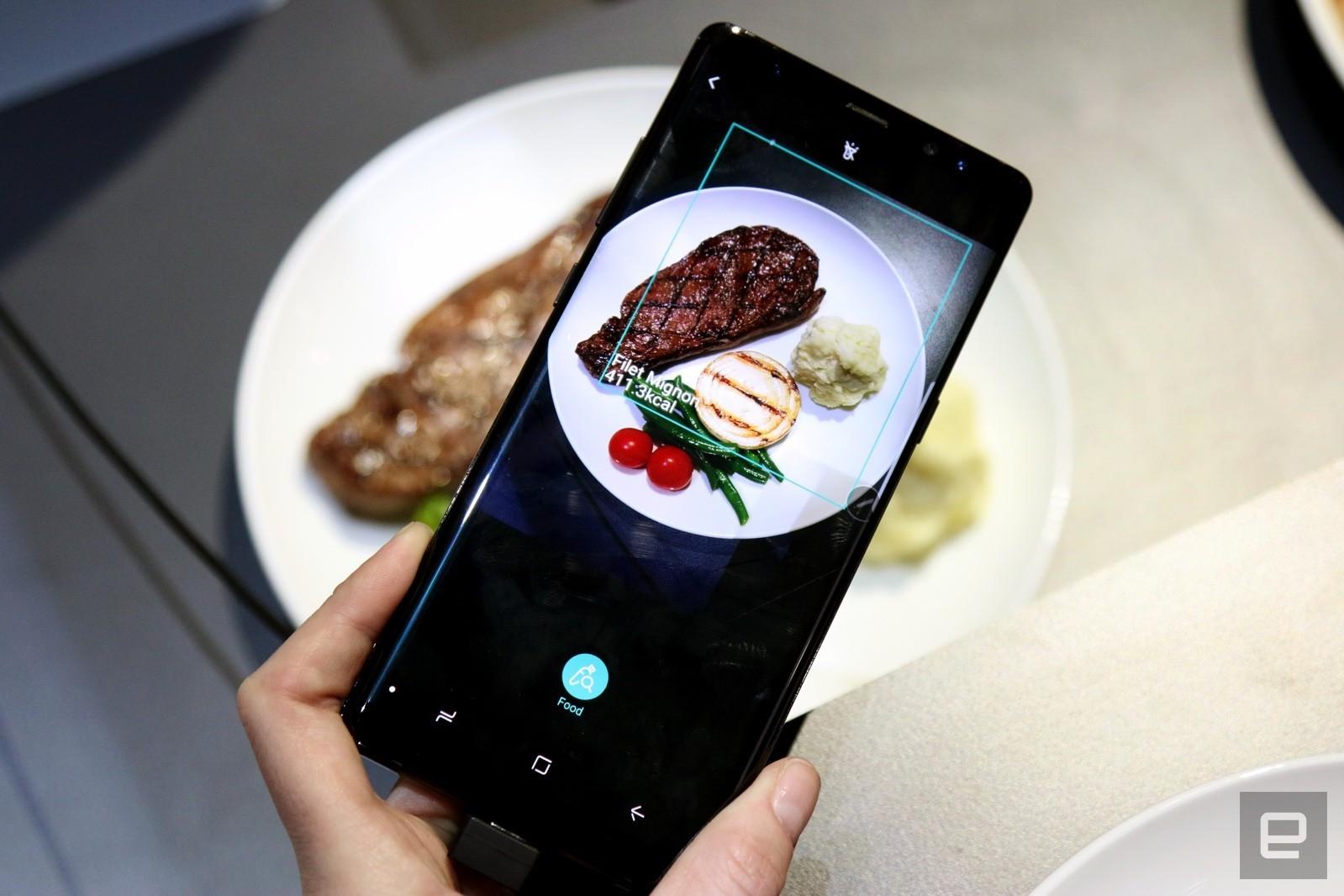 Samsung Bixby peggio del Dottor Nowzaradan? In futuro conterà le calorie del cibo