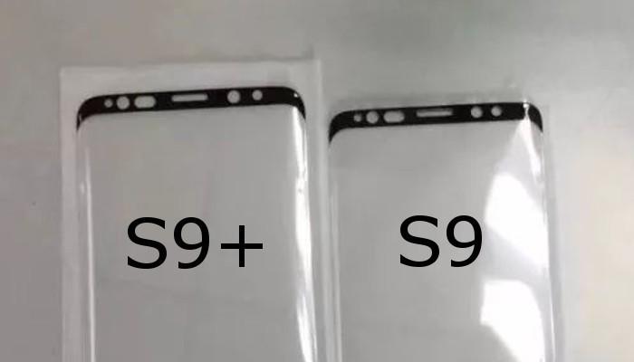 Samsung Galaxy S9 e S9+ in un confronto dimensionale con i nuovi pannelli
