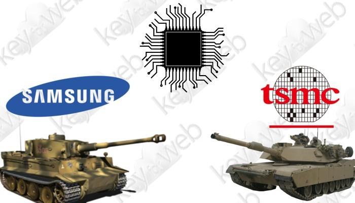 Samsung e TSMC si fanno guerra, la casa taiwanese investe sul processo produttivo a 3 nanometri
