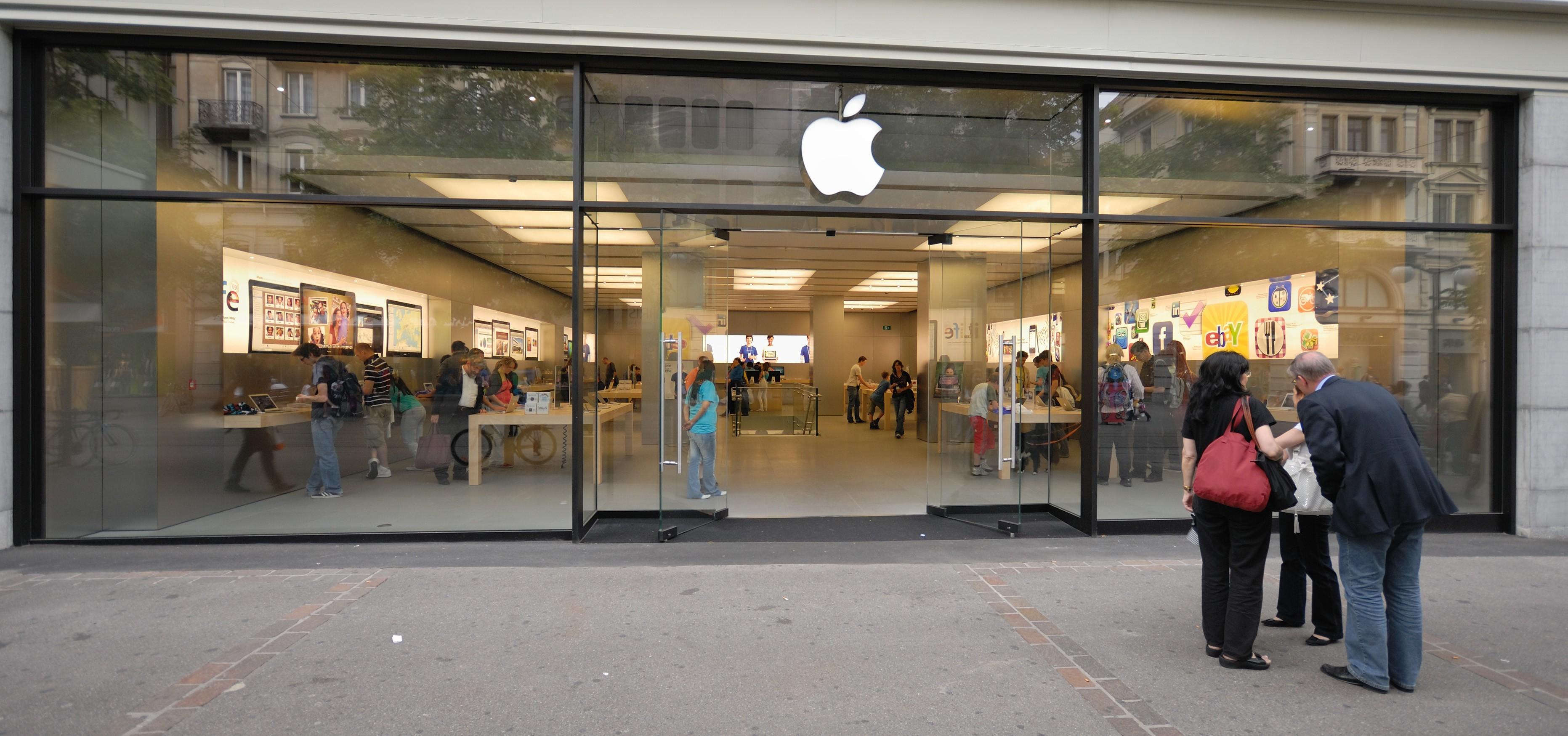 iPhone esplode all'interno di un Apple Store