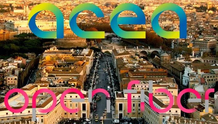 Fibra Ottica Open Fiber – Acea, presto i lavori a Roma