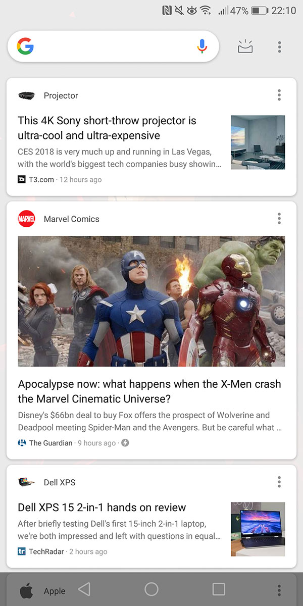 Google Feed cambia pelle: in test una nuova interfaccia