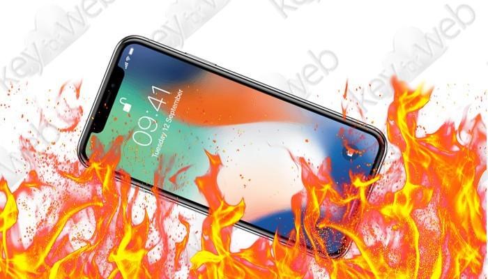 iPhone X si surriscalda e si spegne da solo