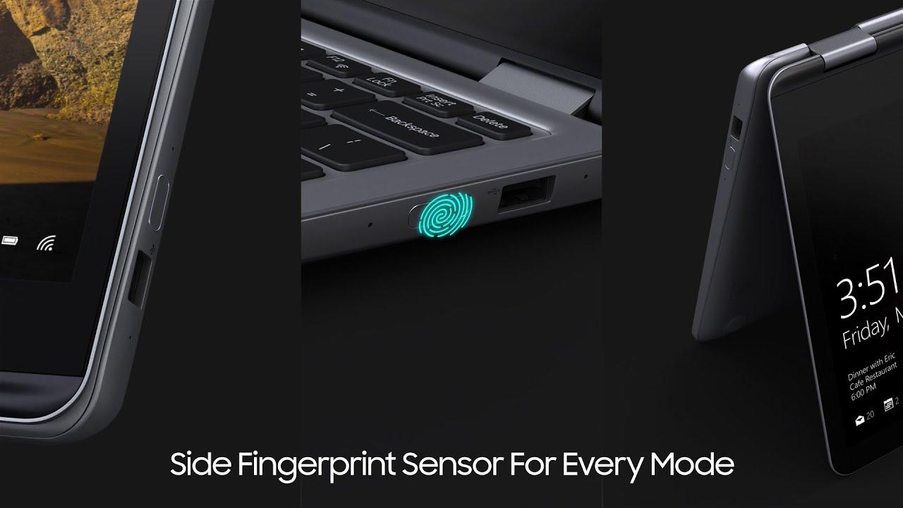 Samsung Notebook 7 Spin 2018 mostrato in un video tour ufficiale
