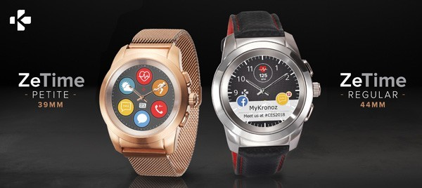CES 2018, ecco i primi smartwatch ibridi