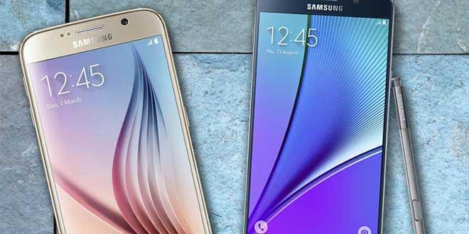 Samsung Galaxy Note 5 e S6 Edge + fuori dai futuri rilasci delle patch mensili Google