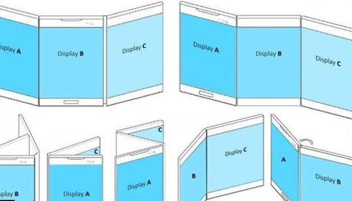 LG brevetta uno smartphone/tablet con 3 schermi