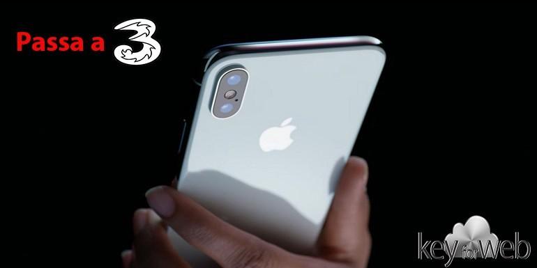Esclusiva passa a Tre con Free X per avere iPhone X e piano tutto incluso