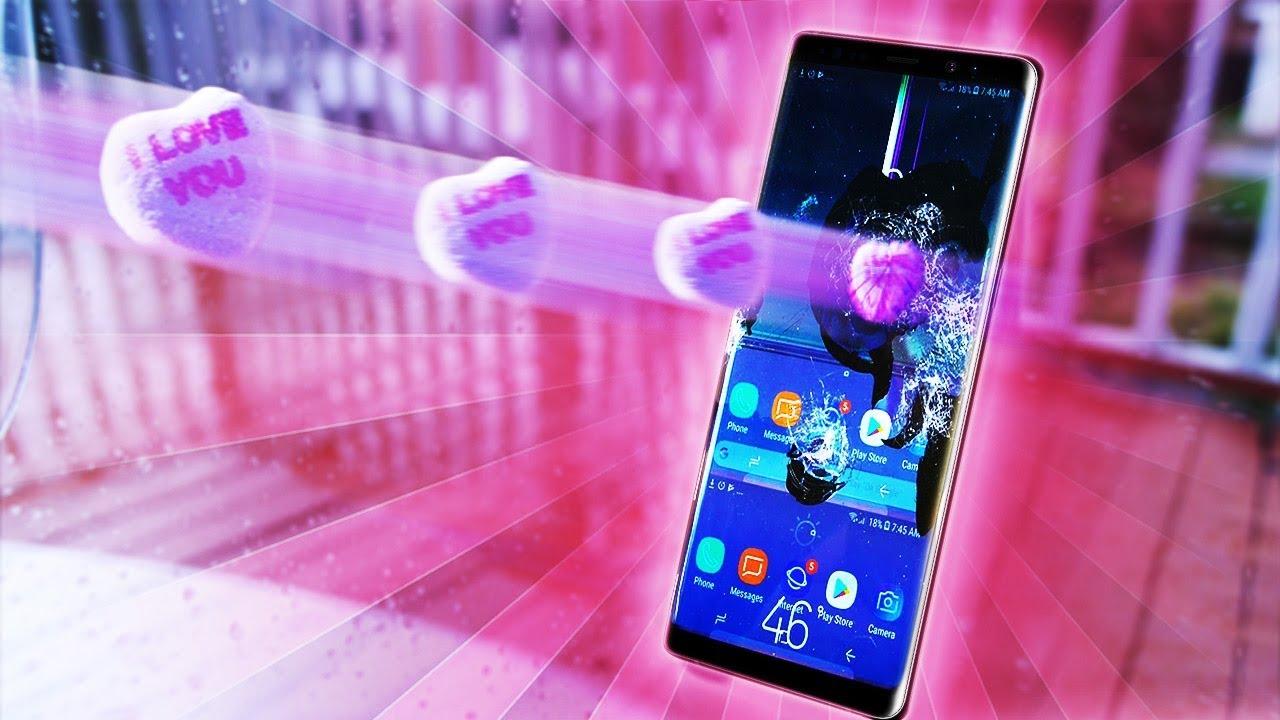 Samsung Galaxy Note 8, a San Valentino viene torturato