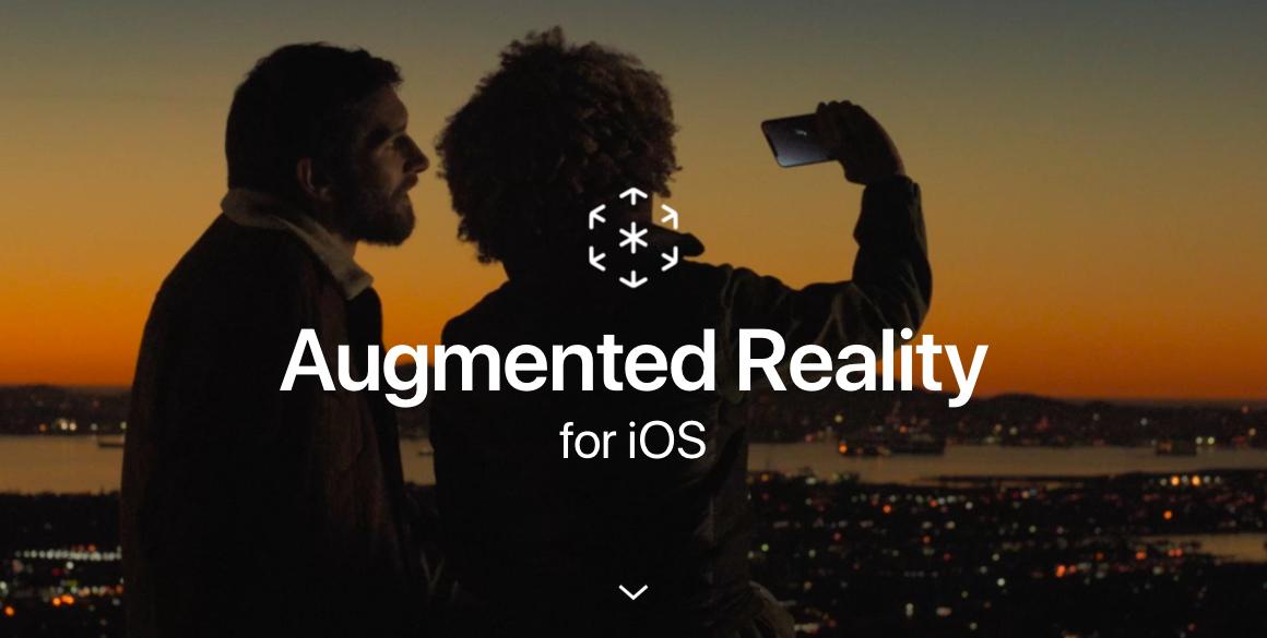 La realtà aumentata ha una sua pagina sul sito di Apple