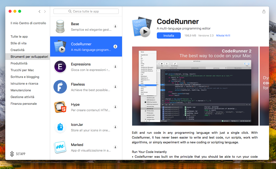 Strumenti per gli sviluppatori