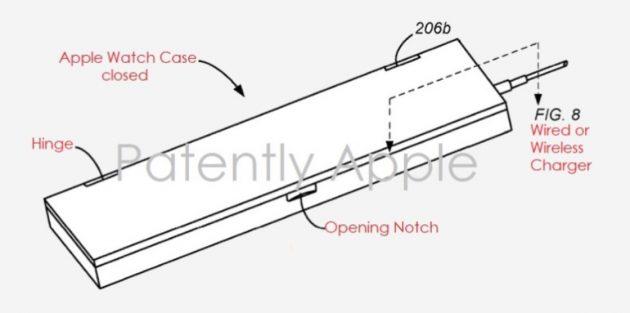 Apple brevetta un battery case per Apple Watch