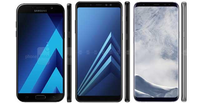 I nuovi smartphone Samsung di fascia media avranno Infinity Display