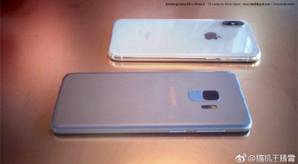 Samsung Galaxy S9 ed iPhone X più vicini che mai